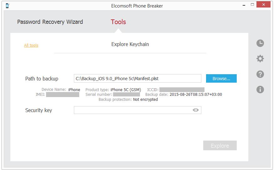 elcomsoft phone password breaker mac version